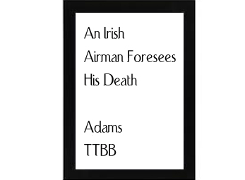 """an irish airman foresees his death essay This particular poem – """"an irish airman foresees his death"""" – was composed by yeats for his close friend lady augusta gregory the poem was written in honor."""