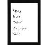 Glory – Brymer